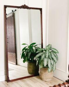 Bathroom Mirrors Diy, Diy Mirror, Wood Mirror, Anthropologie Mirror, Shower Curtain With Valance, Dance Mirrors, Mirror Clips, Rolled Paper Art, Art Deco Bar