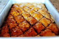 baklava. i have always been so scared. NO LONGER. i may make this this weekend!