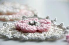 Granny Heart pattern/ réalisation de coeurs au crochet