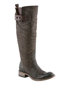 Lucchese - Chocolate Bailey Riding Boot