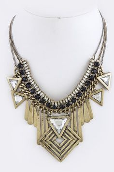 Statement necklace by b.luxxe