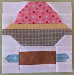 free companion block for farm girl vintage quilt