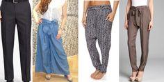 Unikać: proste symetryczne kształty, bezkształtne spodnie.