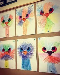 Art 2nd Grade, Arte Elemental, Classe D'art, Crafts For Kids, Arts And Crafts, Art Crafts, School Art Projects, Art Projects Kids, Collaborative Art Projects For Kids