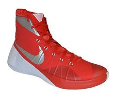 los angeles 5d5c5 a38aa NIKE Mens Hyperdunk 2015 Basketball Shoe 812944 601 University Red Silver  White 15 -- You