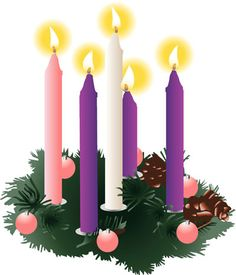advent candles to mark the coming of christ and the season catholic advent wreath