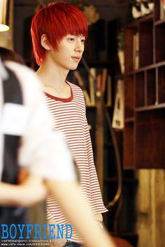 Donghyun w/ Red hair