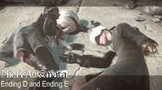 NieR: Automata | Ending D and Ending E (True Ending) #playstation #ps4 #gaming #gamer #nierautomata