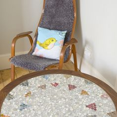 Button table on Folksy