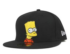 fa24cc361e2 Bart 59Fifty Fitted Baseball Cap by THE SIMPSONS x NEW ERA Fitted Baseball  Caps