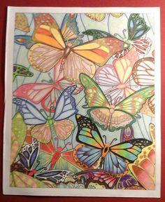 Auteur: Jean Pierre Sonego - Revue: Coloriage Évasion n°11 - Éditions MEGASTAR® France. Butterfly, Colorful, France, Inspiration, Art, Coloring Pages, Stone, Animaux, Biblical Inspiration