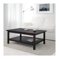 HEMNES Coffee table, black-brown black-brown 46 1/2x29 1/2