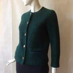 Lanz of Salzburg Austrian boucle wool jacket by afterglowvintage European Style, European Fashion, Salzburg, Vintage Outfits, British, Racing, Wool, Long Sleeve, Sleeves