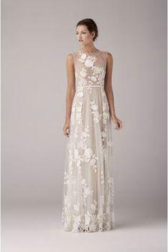 Vestido de novia Arya Nude 2014