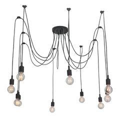 Lampa wisząca - Light Prestige - Soleto 10 czarny