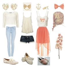 Some cute and girly summer outfit ideas | We Heart It | outfit ...