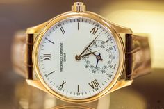Take a look inside Frederique Constant with Montredo!