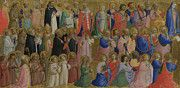 """New artwork for sale! - """" The Virgin Mary With The Apostles And Other Saints by Fra Angelico """" - http://ift.tt/2n7I6Mf"""