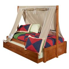 Powell Aspen Tent Bed   Kids Beds At Hayneedle