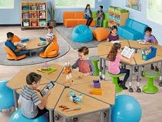Top-quality classroom furniture—from traditional chairs & tables to mobile desks & other flexible seating options! Plus, shop rugs, storage units & more. Space Classroom, Classroom Furniture, Classroom Design, Kindergarten Classroom, Classroom Decor, School Furniture, Classroom Table, Classroom Carpets, Classroom Environment