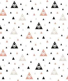 Origami Play Tipi's Koraal - Behang
