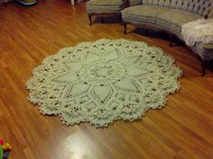Это видео создано в редакторе слайд-шоу YouTube: http://www.youtube.com/upload. You can buy this doily rug on etsy : https://www.etsy.com/listing/214482053/c...