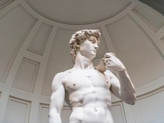 This isn't as saucy as it sounds, we swear. Despite the omnipresence of Michelangelo's iconic sculpture, David deserves to be examined up close. He is breathtaking: a 14-foot-tall marvel in marble who is alternately human and divine. David commands your attention from all vantage points. Your perspective changes as you look left, at the muscle definition the artist managed to convey in hunks of stone, and then look right, into the frightened but determined eyes of a simple man about to face…