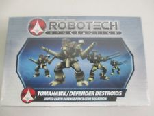 Robotech RPG Tactics - Tomahawk / Defender Destroids miniatures NEW IN BOX !!