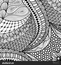Find Artistically Ethnic Pattern Doodle Zentangle Tribal stock images in HD and millions of other royalty-free stock photos, illustrations and vectors in the Shutterstock collection. Zentangle, Tangle Doodle, Tangle Art, Adult Coloring, Coloring Pages, Coloring Stuff, Illustration Vector, Pattern Illustrations, Impression Textile