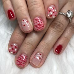 We have 50 Valentine's Day Nails You've Never Seen Before! All of these Valentine's Day Nails are completely unique and we guarantee you wil Valentine's Day Nail Designs, Acrylic Nail Designs, Acrylic Nails, May Nails, Love Nails, Seasonal Nails, Holiday Nails, Valentine Nail Art, Valentine Nail Designs