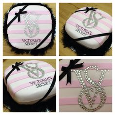 Victoria's Secret Pink Cake for a Bachelorette Party!