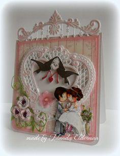 Jolanda's Crea-Blogg - Handmade Card using Marianne Creatables Design Dies