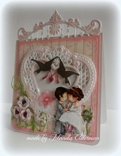 Jolanda's Crea-Blogg - Handmade Card using Marianne Creatables Design Dies
