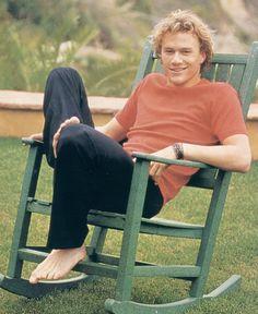 The young Heath Ledger (XI)