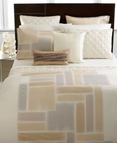 Hotel collection bedding brushstroke full queen duvet cover duvet