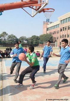 Basketball Interhouse Competition