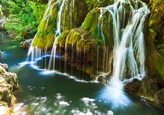 Waterfalls, rocky mountains, lakes, bridges and other adventures are all in the store for the wild at heart Krka National Park, National Parks, Beautiful World, Beautiful Places, Nature Photography, Travel Photography, Cascade Falls, Spa Water, Small Waterfall