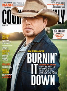 Jason Aldean is set to heat up country music in his own way, without any rules.