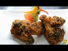 Masala Chicken Wings - By VahChef VahRehVah.com - YouTube