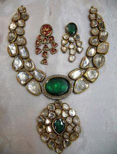 kundan jewellery, diamond polki, indian gold jewellery manufacturer | Kundan…