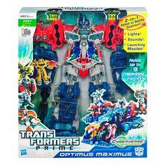 Figura de acción Hasbro Transformers Cyberverse Optimus Maximus *Hasta agotar existencias*