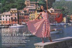 awesome Timeless  Christy Turlington para Vogue US Dezembro 1992 por Arthur Elgort  [Editorial]