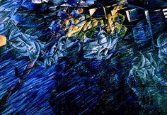 Umberto Boccioni, States of Mind II: Those Who Go, 1911. Colore ad olio, 71 cm x 96 cm