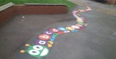 School Play Area Graphics in New Costessey #School #Play #Area...