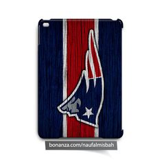 New England Patriots on Wood iPad Air Mini 2 3 4 Case Cover