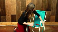 How to Make A Macramé Chair | Macrame Tutorial by diyready.com