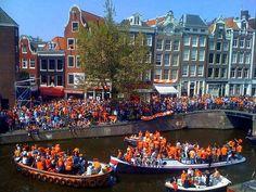 Sloep huren Amsterdam koningsdag