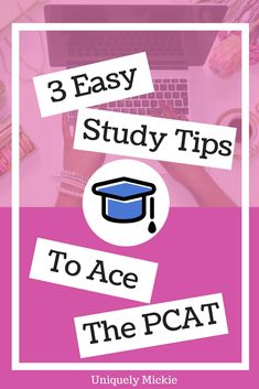 This post may contain affiliate links, which means if you click through the link and make a purchase, Uniquely Mickie will receive a small commission. If you're interested in pursuing medical school or maybe you're obsessed with Grey's Anatomy, then you might've heard about this really big test called the MCAT. While pharmacy school also a similar version called the PCAT. P for pharmacy basically. If you're applying for pharmacy school, then most programs require their candidates to take…