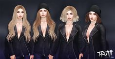 Two Sets of Hair With Beanie Options December 2016 VIP Group Gift by TRUTH HAIR