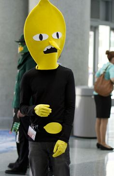 Earl of Lemongrab from Adventure Time #WonderCon2014